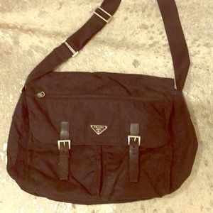 Authentic Prada Messenger Bag